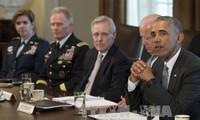 Presiden AS Barack Obama bersuara membela kebijakan yang diberlakukan pemerintahan masa baktinya