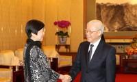 Aktivitas-aktivitas dari Sekjen KS PKV, Nguyen Phu Trong di Republik Rakyat Tiongkok