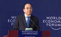 PM Vietnam, Nguyen Xuan Phuc tiba di Swiss untuk menghadiri Konferensi WEF