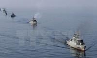 Iran membangun pangkalan angkatan laut baru di teluk Oman