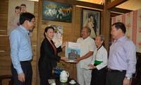 Ketua MN  Vietnam, Nguyen Thi Kim Ngan melakukan temu kerja di provinsi Dien Bien