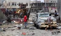 Serangan terhadap pangkalan militer di Yaman menewaskan banyak orang