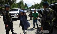 Filipina memperkuat operasi pembersihan  terhadap kaum pembangkang Islam di Marawi