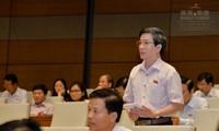 MN Vietnam berbahas tentang RUU mengenai Pengelolaan Utang Publik (amandemen)