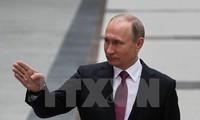 Presiden  Rusia, V.Putin memprotes RUU mengenai pengenaan sanksi baru terhadap Rusia