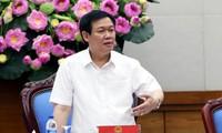 Deputi PM Vuong Dinh Hue memimpin Sidang Badan Pengarahan Pusat tentang program-program target nasional