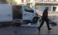Penabrakan mobil di Bacelona: Tersangka sopir sedang melarikan diri