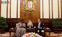 Presiden Vietnam, Tran Dai Quang menerima para Dubes dari Nigeria, Yunani dan AS