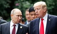 Presiden Rusia dan AS berbahas tentang banyak masalah internasional yang panas