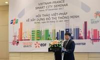 Vietnam dan Perancis berbagi pengalaman dalam pembangunan kota pintar