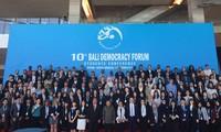Forum  Demokrasi Bali  yang ke-10 dibuka di Banten, Indonesia