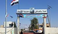 Membuka kembali satu koridor perbatasan Libanon- Suriah setelah 5 tahun ditutup