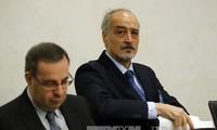 Delegasi Pemerintah Suriah menolak melakukan dialog dengan faksi oposisi di meja perundingan damai di Jenewa