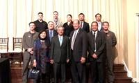 Dubes Vietnam, Pham Quang Vinh  melakukan kunjungan kerja di negara bagian Florida dan Arkansas (AS)