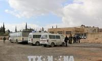 Pemerintah Suriah membuka koridor kemanusiaan baru di luar kawasan Ghouta Timur