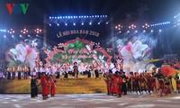 Festival Bunga Ban tahun 2018 memuliakan nilai-nilai budaya tradisional