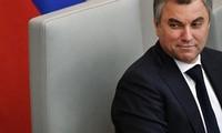 "Ketua Duma Negara: Rusia dengan teguh mengatasi ""prahara"" sanksi dari Barat"