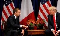 AS dan Perancis mengusahakan cara untuk memecahkan perselisihan ttg permufakatan nuklir Iran