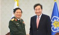 Penandatanganan Pernyataan Bersama Kerjasama Pertahanan Vietnam-Republik Korea sampai 2030