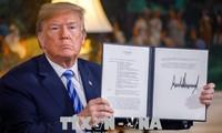 Iran dan Perancis terus mencela keputusan AS yang menarik diri dari permufakatan nuklir