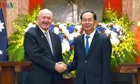 Memperdalam lebih lanjut lagi hubungan Kemitraan Strategis Vietnam-Australia ke satu ketinggian baru