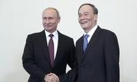 Tiongkok dan Rusia sepakat memperkuat hubungan demi kepentingan dua negara dan dunia
