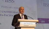 Dialog ShangriLa 2018:AS menekankan tidak mengurangi sanksi sampai saat RDRK melakukan denuklirisasi