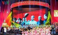 Acara peringatan ultah ke-70 Hari Presiden Ho Chi Minh mengeluarkan Seruan kompetisi patriotik