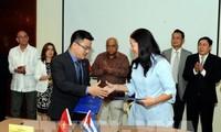 Badan Usaha Vietnam dan Kuba menandatangani banyak permufakatan dagang