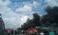 Kebakaran besar di Pulau Bali