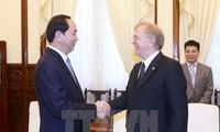 Presiden Vietnam, Tran Dai Quang menerima Dubes Kanada dan Belgia