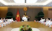 PM nguyen Xuan Phuc memimpin sidang tentang Strategi Kelautan