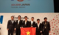 Vietnam meraih medali emas di Olimpiade Informatika Internasional yang ke-30