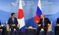 Pemimpin Rusia dan Jepang berbahas tentang program ekonomi bersama di pulau-pulau yang dipersengketakan