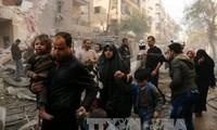 PBB memperingatkan bahaya krisis kemanusiaan di Suriah