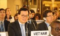 Vietnam dengan aktif berpartisipasi dalam sidang periodik Dewan Hak Asasi Manusia PBB