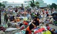 Indonesia berseru kepada internasional supaya memberikan bantuan untuk mengatasi akibat gempa bumi dan tsunami