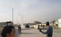 Serangan bunuh diri di depan Markas Komite Pemilu Afghanistan