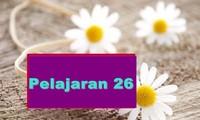 Pelajaran 26