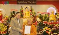 Meresmikan Pusat Kebudayaan Buddha dari orang Vietnam di Republik Czech