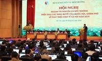 Kementerian Sumber Daya Alam dan Lingkungan Hidup  Vietnam menggelarkan tugas tahun 2019