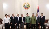 Laos berkomitmen menciptakan syarat bagi badan-badan usaha Vietnam untuk mengembangkan pertanian secara berkesinambungan