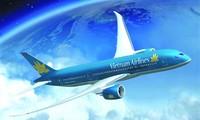 Vietnam Airlines tergolong dalam Top Besar 10 brand Vietnam yang paling  bernilai