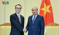 PM Nguyen Xuan Phuc menerima Presiden Bank MUFG (Jepang)