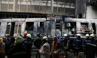 Mesir mengumumkan penyebab kecelakaan yang menimbulkan kebakaran di stasiun Kairo