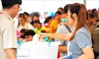 Pemilu Thailand: Persentase pemilih  yang memberikan suara lebih dini  memperoleh 75 %