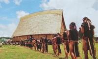 Rong House of Ba Na ethnic people