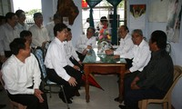 PM applauds efforts to help fishermen resettle