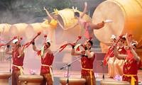 Hue festival's percussion performance