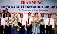 Da Nang welcomes first direct flight from Russia's Novosibirsk